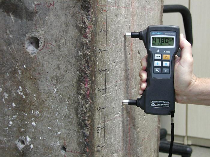 Определение прочности бетона приборы купить цементные раствор и вода